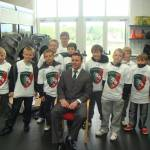 South Parade Visit Leicester Tigers!