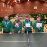 2015/2016 U11 Table Tennis